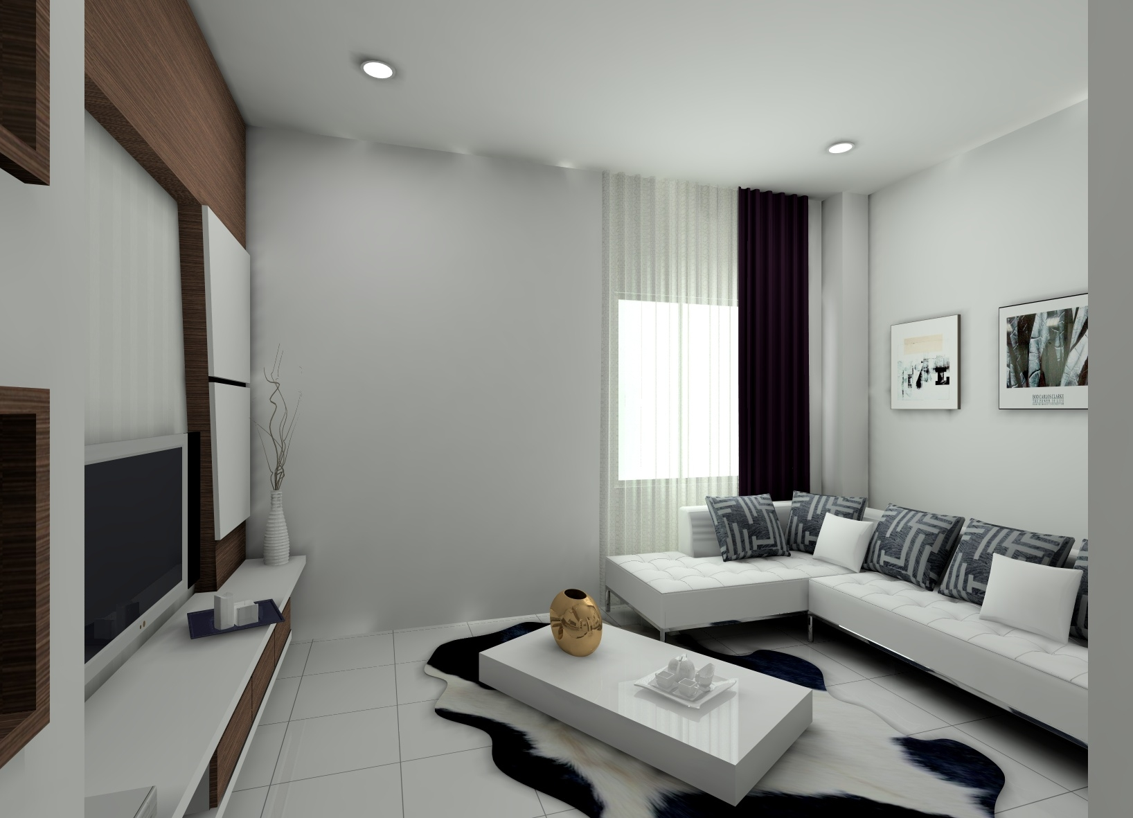 renovate the living room with picture and art - Photos Of Interior Design Living Room
